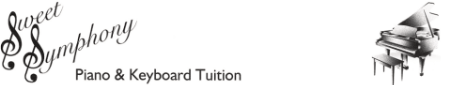 Sweet Symphony Piano & Keyboard Tuition Logo