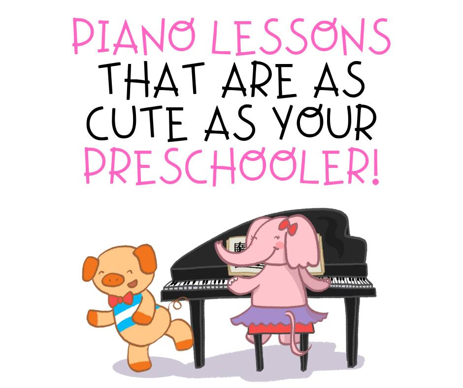Sweet Symphony offers Preschool Piano Lessons using the popular Wunderkeys™ method.