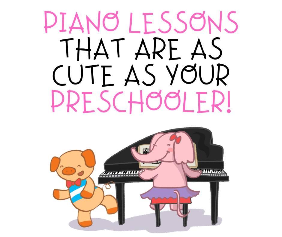 Sweet Symphony offers Preschool Piano Lessons using the popular Wunderkeys™ method.
